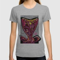 Nalubuff - Get Snake Bit Womens Fitted Tee Athletic Grey SMALL