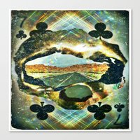 Paved With Good Intentio… Canvas Print