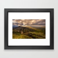 Hope Valley Framed Art Print
