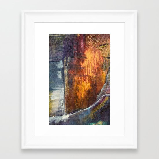 Stormy Sea 1 Framed Art Print