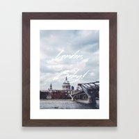 London, Baby! Framed Art Print