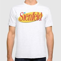 Sienfeld Mens Fitted Tee Ash Grey SMALL