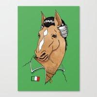 Italian Stallion Canvas Print