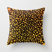 Big Bang Squares Throw Pillow