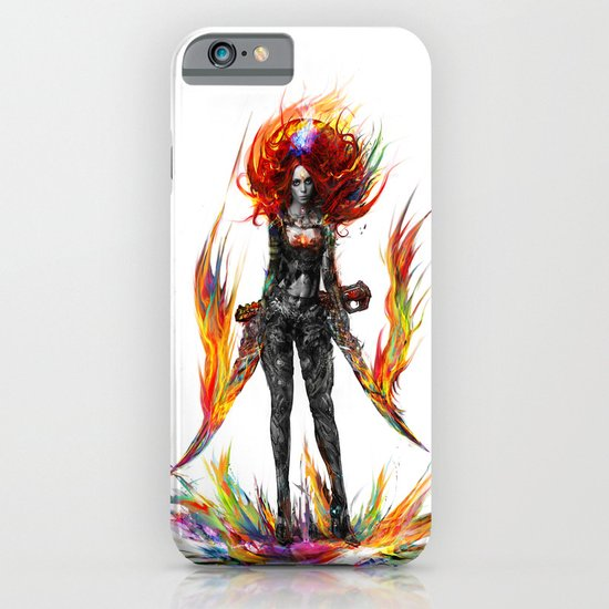 color attack iPhone & iPod Case