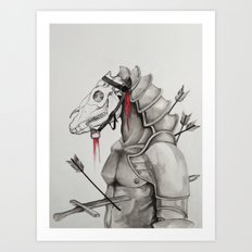 Valor Art Print