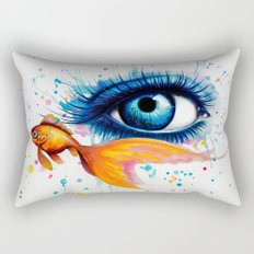 -Empty Oceans- Rectangular Pillow