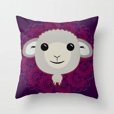 Big Sheep Throw Pillow