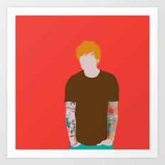 Mr Ed Art Print