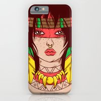 iPhone & iPod Case featuring Dangerous Girls - Indian  by Matheus Costa