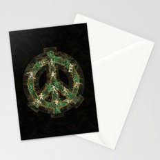 Peace Keepers Stationery Cards