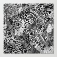 Nightfallen Canvas Print