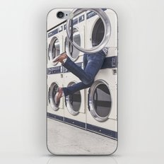 laundry iPhone & iPod Skin