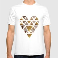 Bling - Pt. 2 (Heart) Mens Fitted Tee White SMALL