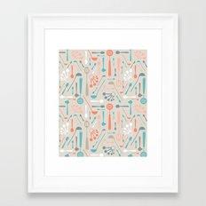 Spoons Framed Art Print