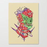 Zombie Sense Canvas Print