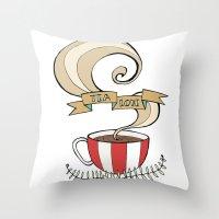 Tea Love Throw Pillow