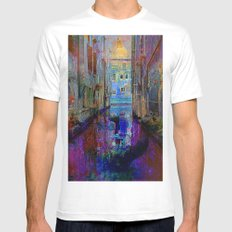 The gondolier SMALL Mens Fitted Tee White
