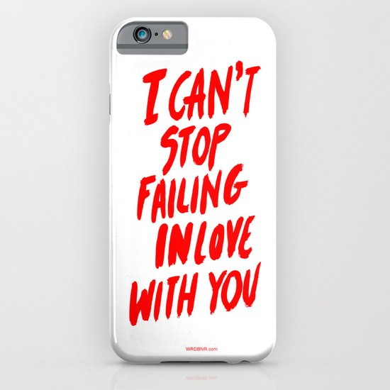 Failing iPhone & iPod Case