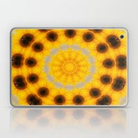 Sunflower And Bee Abstra… Laptop & iPad Skin