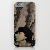 iPhone & iPod Case featuring Mademoiselle Coco by Luca Piccini