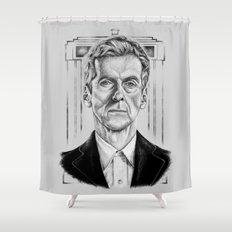 The 12th (Light Variant) Shower Curtain