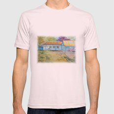 Country house Mens Fitted Tee Light Pink SMALL