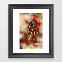 Elektra Red..... Framed Art Print
