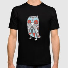 Urban Owlfitters Black SMALL Mens Fitted Tee