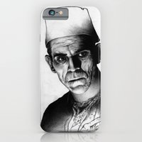 iPhone & iPod Case featuring Karloff by maxandr