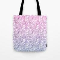 Curly & The Monster Fact… Tote Bag