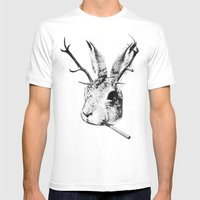 Sargeant Slaughtered Mens Fitted Tee White SMALL