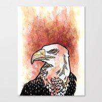Bold Bird Canvas Print