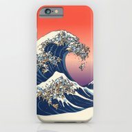 iPhone & iPod Case featuring The Great Wave Of Englis… by Huebucket