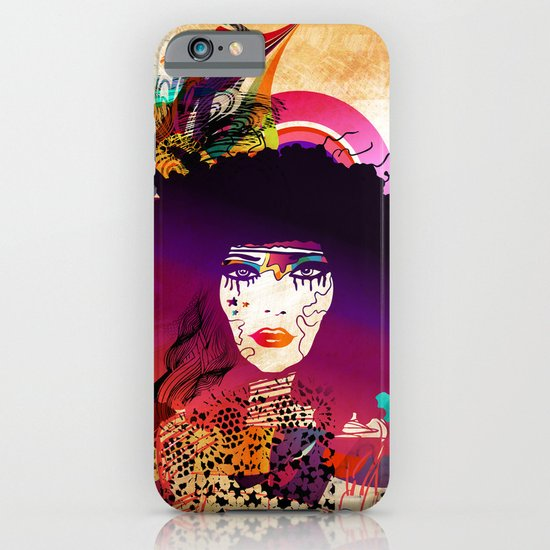 Afro Girl iPhone & iPod Case