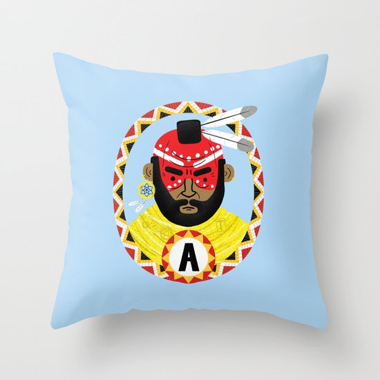 The Last of the Mohicans Throw Pillow