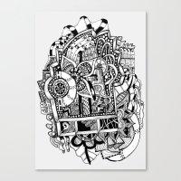 Estanterías Canvas Print