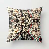 Bromdens Pattern Throw Pillow