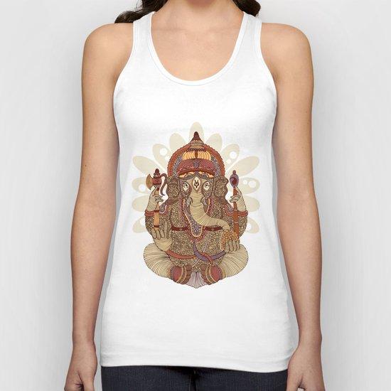 Ganesha: Lord of Success Unisex Tank Top