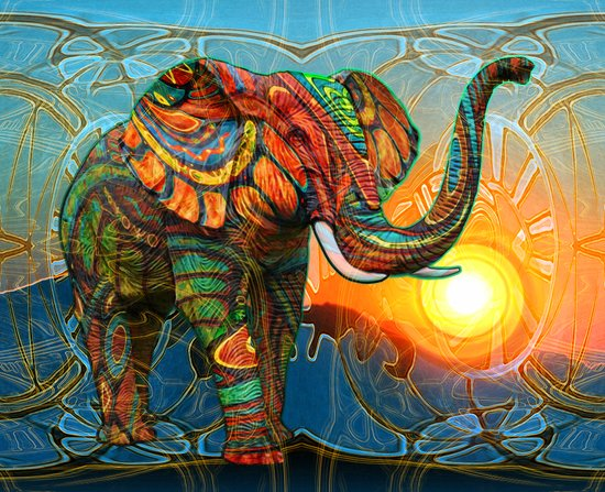 Elephant's Dream Canvas Print