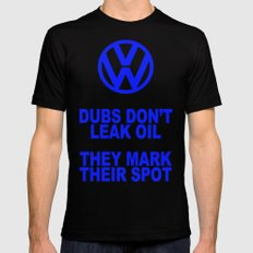 VW Mark the Spot Mens Fitted Tee SMALL Black