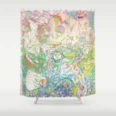 This Sea of Love Shower Curtain