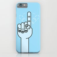 Finger Wag iPhone 6 Slim Case