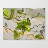 Amazonite - Abstract Canvas Print