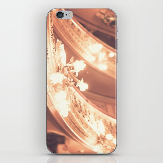 Pink Theater Lights  iPhone & iPod Skin