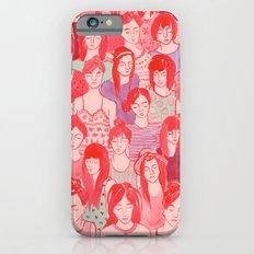 Girl Crowd iPhone 6 Slim Case