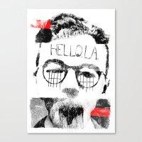 Hello.L.A. Canvas Print