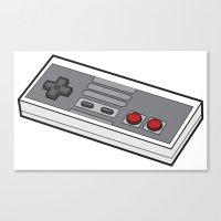 NES Canvas Print