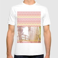 AZTEC 'Door Into Summer'_1-1 Mens Fitted Tee White SMALL
