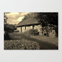 Living In The Past Canvas Print